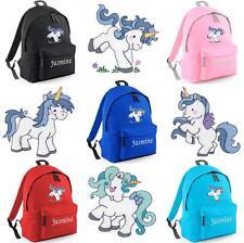 PERSONALISED EMBROIDERED JUNIOR UNICORN RUCKSACK/BACKPACK - pony horse bag