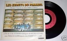 "Vinyl SP 45 tours 7"" BO LES EGOUTS DU PARADIS Audiard Giovanni Huster"