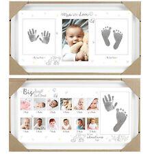 Baby Andenken Hand Druck & Fußdruck Foto Fame - Design Wählbar