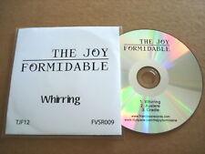 THE JOY FORMIDABLE - WHIRRING - RARE PROMO CD