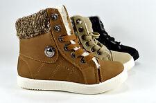 Kinder Schuhe Stiefeletten Boots Stiefel Winterstiefel Gr.30-35 Lederopt A.1307