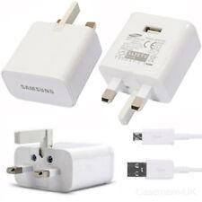 Caricabatteria ALIMENTAZIONE SAMSUNG ep-ta10uwe + CAVO DATI USB per telefoni Galaxy/Nota/Scheda