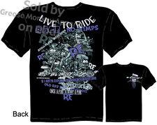Ratfink T Shirt Live To Ride Collage Ed Big Daddy Clothing Tee Sz M L XL 2XL 3XL
