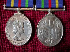 Replica Copy Civil Defence Long Service Medal full size