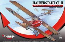 CIRCONDARIO DI Halberstadt CL II-WW I Luftwaffe ATTACCO AEREO MIRAGE 1/48 (qualità eccellente)