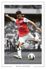 Mikel Arteta Arsenal Firmado Foto Autógrafo impreso Soccer