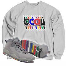 Cool People With Cool Kicks Sweatshirt To Match Air Jordan 10 Cool Grey Shoes