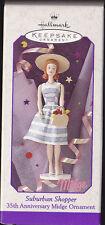 1998 Hallmark Suburban Shopper Barbie 35th Anniversary