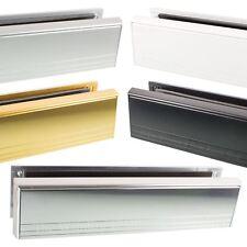 """Yale 12"""" Inch Letter Box Plate Set Heavy Duty Metal UPVC Double Glazing Door"""