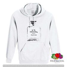 FELPA CON CAPPUCCIO E TASCA UNISEX FRUIT PROFUMO N 5 PARIS PARFUM F009