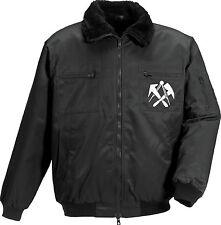 MASCOT ® Winter-Pilotjacke Dachdecker-Winterjacke Emblem Outdoor Jacke  E151699