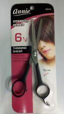 Annie Stainless & Titanium Steel Series Hair Shear Scissors with Finger Rest