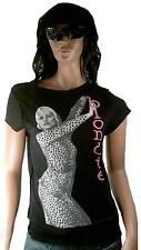 Amplified Tiger Blondie Debbie Harry Skirt Star Vip T - Shirt L
