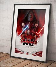 🎨 Poster Star Wars Gli Ultimi Jedi Film Signage Stampa Fine Art di Pregio 🖌