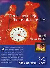 PUBLICITE ADVERTISING  1994   RTBF   radio télévision Belge