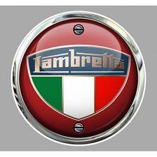 LAMBRETTA ( vis ) Sticker Trompe-l'oeil