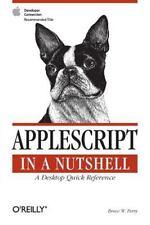 AppleScript in a Nutshell (Paperback or Softback)