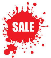 SALE Shop Window Vinyl Sticker Splash Advertising Retail Sign Decals