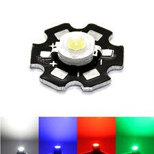 LED Heat Sink Aluminum Base Plate PCB Board weiß blau rot grün AXD gelb Platine