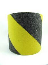 "ANTI Skid NON Slip TREAD 100mm (4"") SELF Adhesive Safety Hazard TAPE"