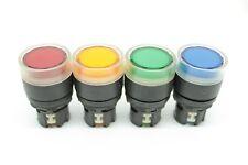 Allen-Bradley 800E Illuminated Momentary Push Button - Red/Orange/Green/Blue