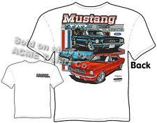 Mustang T Shirts Ford Shirt Mustang Clothes Vintage Car 1965 1966 1967 65 66 67