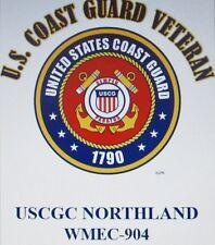 USCGC NORTHLAND*  WMEC-904* FAMOUS CLASS COAST GUARD VETERAN EMBLEM*SHIRT