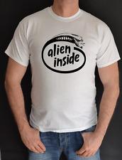 Alien dentro, Alianza, USCSS, etiqueta de nombre personalizado, tranquilícese, cine, divertida, camiseta