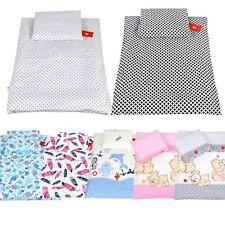 Set Bezug Fullung Kinderwagen Garnitur Bettwasche Decke 60x78