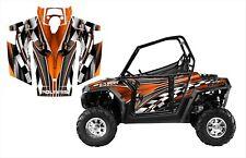 Polaris RZR 800 graphics kit 2007 2008 2009 2010 with door wrap #2500 Orange