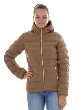 CMP chaqueta Plumón Chaqueta funcional Marrón Teflón aislamiento Capucha Cálido