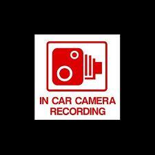 En coche cámara de grabación-exterior calcomanía / señal -, Cctv, seguridad, seguridad