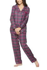Damen Flanell-Schlafanzug, warmer Winter-Schlafanzug, Nachtwäsche, Pyjama