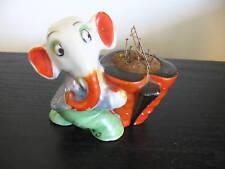 Vintage Signed Japan Porcelain Elephant Pin Cushion