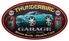 2002-05 Ford Thunderbird Convertible Garage Sign Wall Art Graphic Sticker