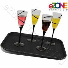 Non-Slip Rectangular Tray Bar Pub Waiter Serving Drinks Food Café Dinner Platter