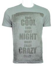 C'N'C (Costume National) cool night slim fit tee deep grey
