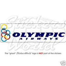 OLYMPIC AIRWAYS, Airlines, Aviation Vinyl Sticker Decal