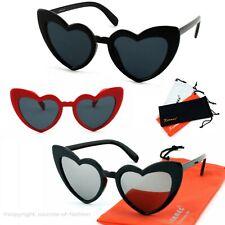Herz Form Dame Brille Farbverlauf Linse Sonnenbrille Augen Schutzbrille-Gläser