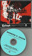 THE NATIONAL Booker T. JONES & MG's Memphis PROMO DJ CD
