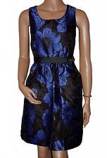 BN Ladies Black & Blue Evening Prom Dress - UK 8 - 16