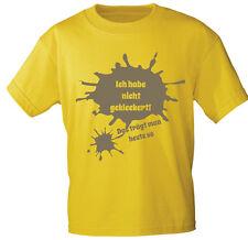 T-shirt gr. 92-128 Ich habe PAS SALISSANT, cela Ajoute un so 08155 jaune