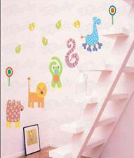 Wandaufkleber Wandtattoo Wandsticker kleine Tiere für Kind Kinderzimmer WAK-014