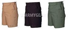 TruSpec Military Army Cargo Cotton Fatigue 6 Pockets BDU RipStop Shorts Pants