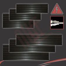 """""""Corwen"""" électrique noire pré-remplie Horizontal panneau radiateurs + éléments chauffants"""