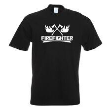 Firefighter Feierwehrmann T-Shirt Motiv bedruckt Funshirt Design Print