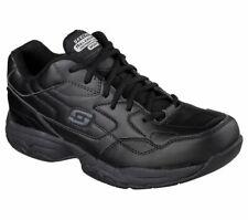 77032 Skechers Men's FELTON-ALTAIR Work Shoes Non Slip Black Unisex