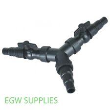"threaded h//tail Swimming Pool pond 1.5/"" 3-way valve"