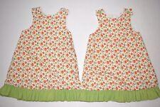 Remember Nguyen girls A-line ruffle bottom dress sz 3T & sz 5 Fall colors