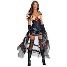 Lilah Costume Adult Jonah Hex Sexy Saloon Girl Halloween Fancy Dress